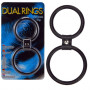 Dual Rings  Shaft And Balls Ring - For The Closet