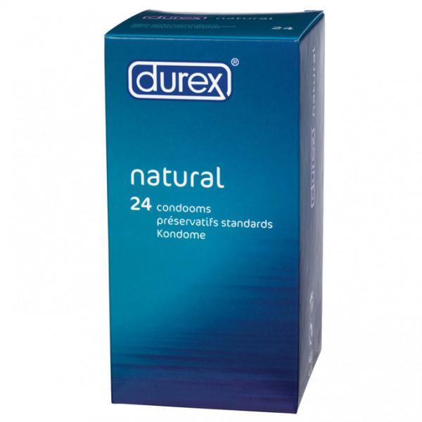 Durex Natural x 24 Condoms - For The Closet