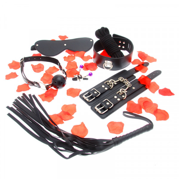 Amazing Bondage Sex Toy Kit - For The Closet