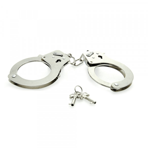 Eroflame Metal Handcuffs - For The Closet
