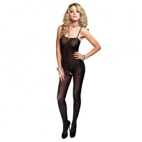 Leg Avenue Open Crotch Opaque Bodystocking