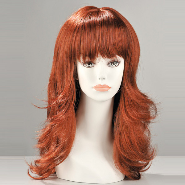 Fiona Red Long Wig - For The Closet