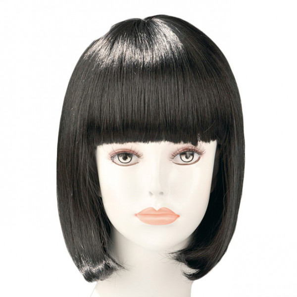 China Doll Black Bob Wig - For The Closet
