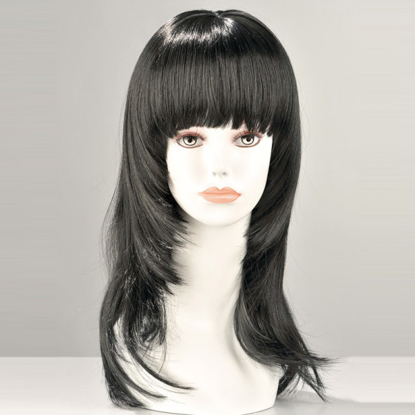 Kate Long Black Wig - For The Closet