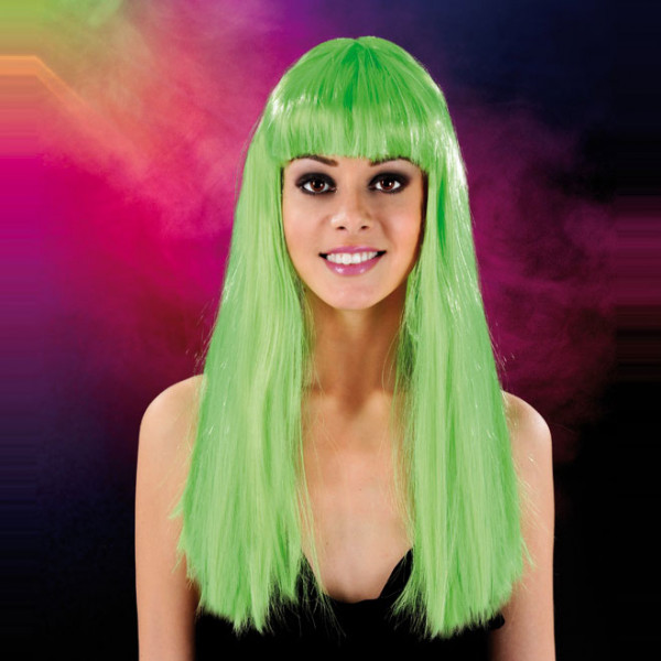 Cabaret Wig Green Long - For The Closet