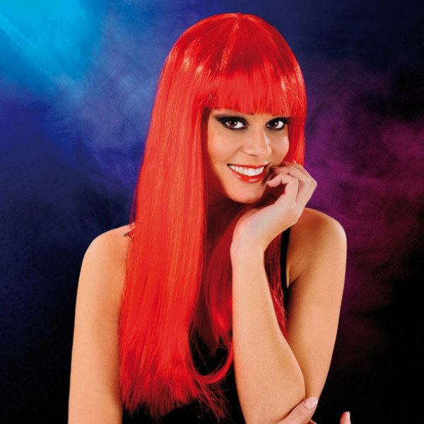 Cabaret Wig Red Long - For The Closet