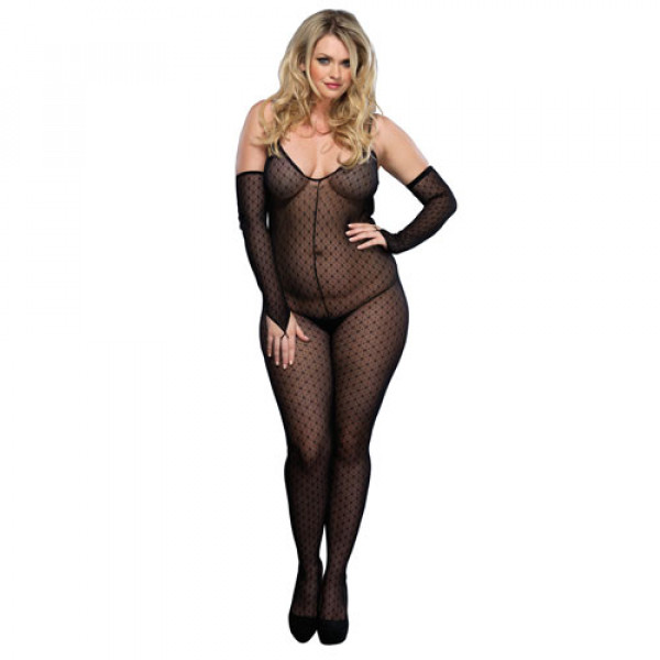 Leg Avenue Daisy Bodystocking UK 16-18 - For The Closet