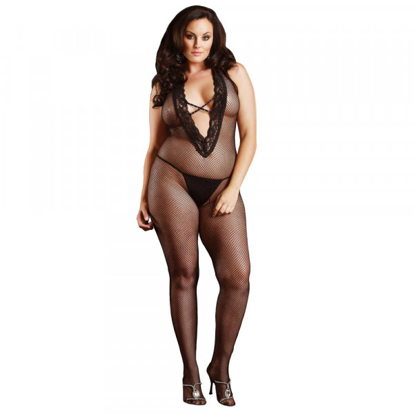 Leg Avenue Halter Bodystocking - For The Closet