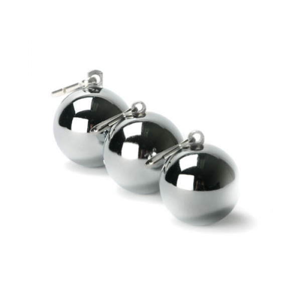 Chrome Ball Weights 8oz - For The Closet