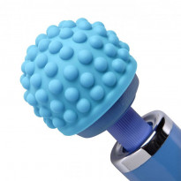 Wand Essentials Blue Massage Bumps Silicone Attachment