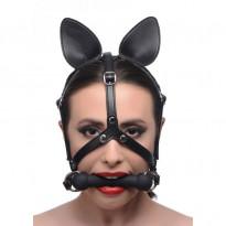 Master Series Dark Horse Pony Head Harness