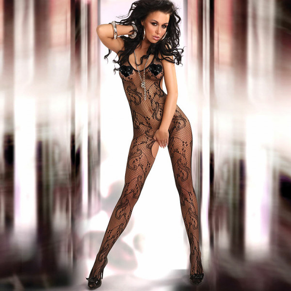 Corsetti Eden Body Stocking UK Size 8-12 - For The Closet