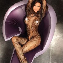 Corsetti Abra Body Stocking UK Size XL to XXL