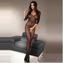 Corsetti Josslyn Crotchless BodyStocking Size 8-12