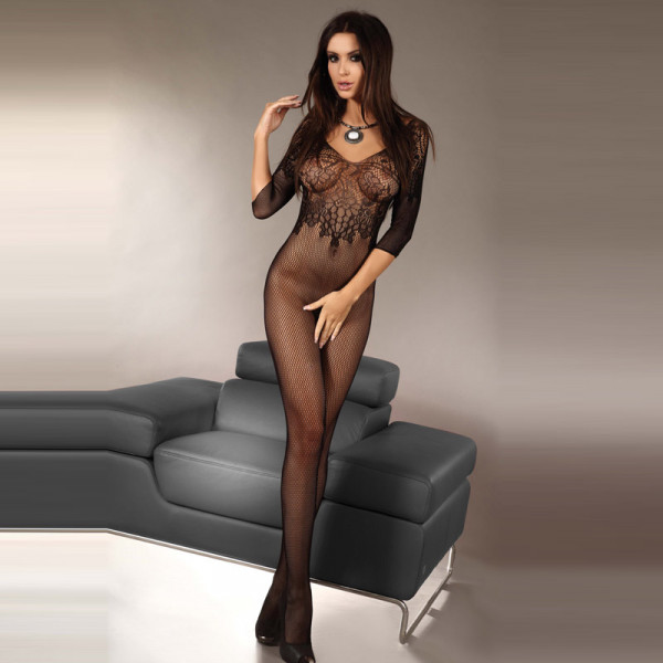 Corsetti Josslyn Crotchless Body Stocking UK Size 8-12 - For The Closet