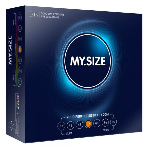 My.Size 57mm Condom 36 Pack