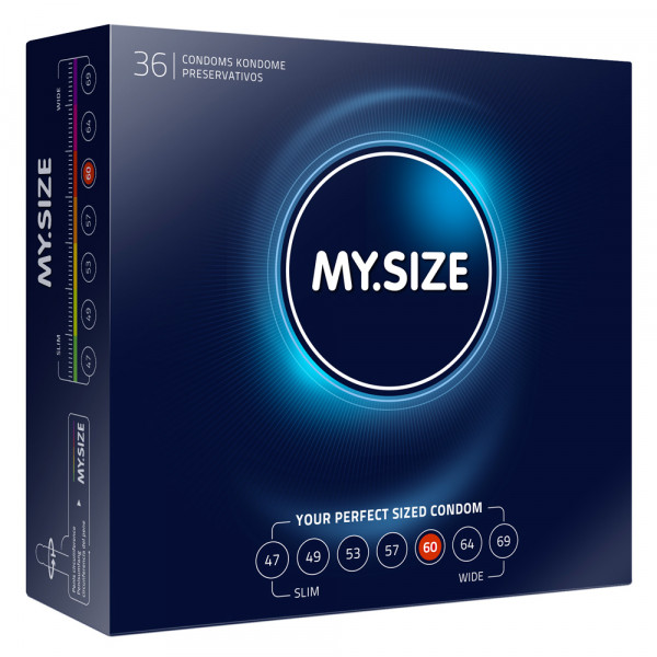 My.Size 60mm Condom 36 Pack