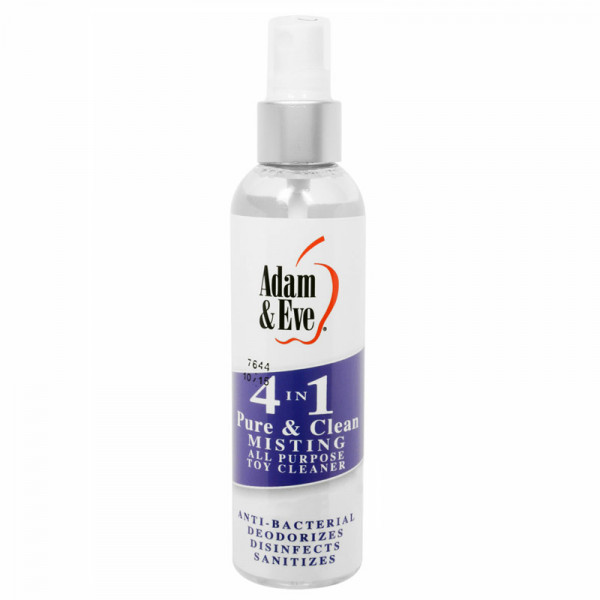 4 In 1 Pure And Clean Misting Toy Cleaner - For The Closet