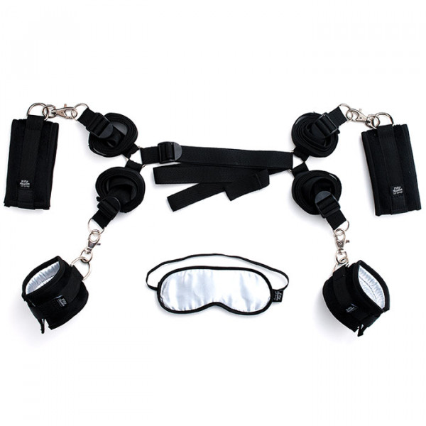 Fifty Shades Of Grey Hard Limits Bed Restraint Kit - For The Closet