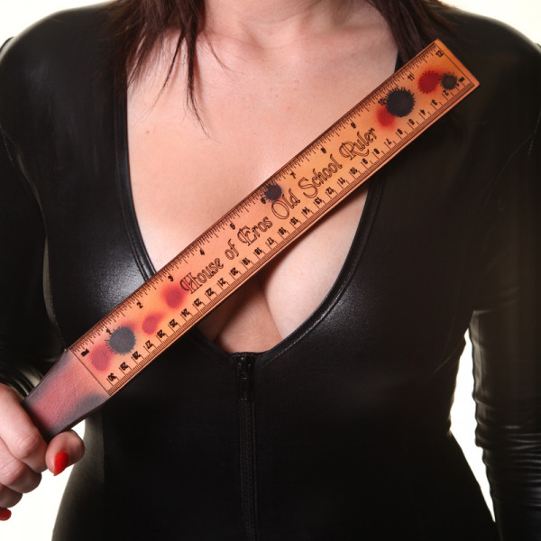 House of Eros Leather Old School Ruler - For The Closet