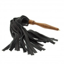 House of Eros Medium Weight Flogger Black