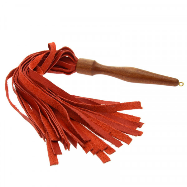 House of Eros Medium Weight Flogger Red - For The Closet