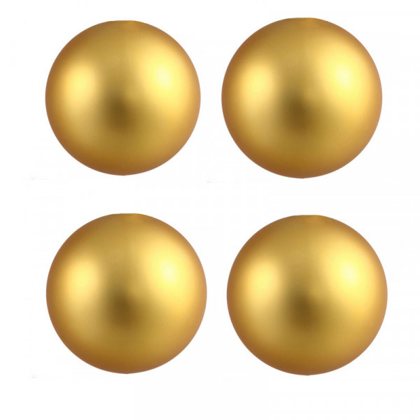 House Of Eros Gold Magnetic Nipple Balls 6.4mm