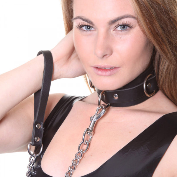 House of Eros Collar and Heavy Chain - For The Closet