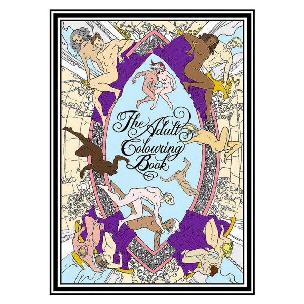 The Adult Colouring Book