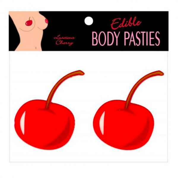 Edible Luscious Cherry Flavour Body Pasties
