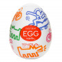 Tenga Keith Haring Street Egg - For The Closet