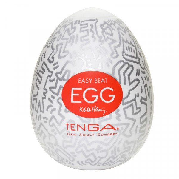 Tenga Keith Haring Party Egg - For The Closet