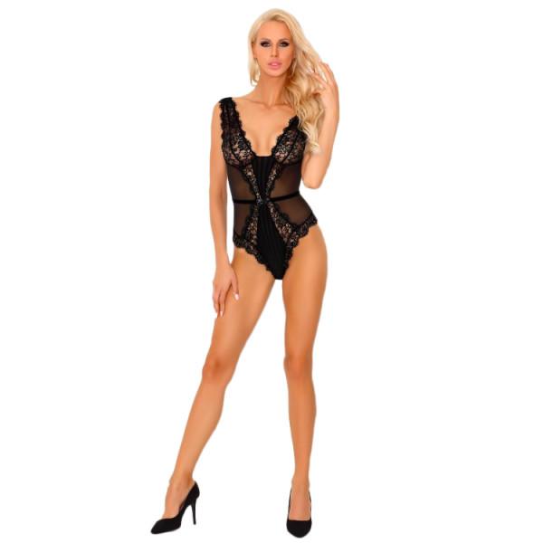 Corsetti Tisiphonea Black Bodysuit