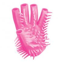 Pink Masturbating Glove
