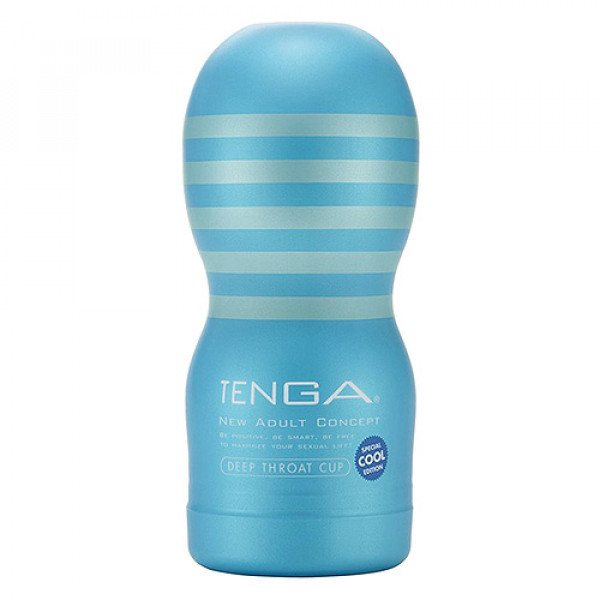 Tenga Deep Throat Cup Cool Edition - For The Closet
