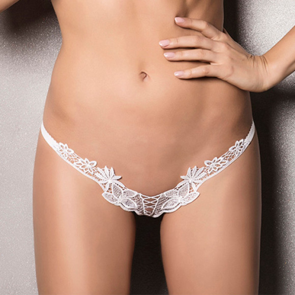 Passion Athena Thong White - For The Closet