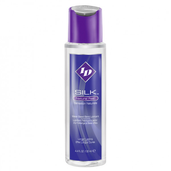 ID Silk Natural Feel Water based Lubricant 4.4floz/130mls - For The Closet