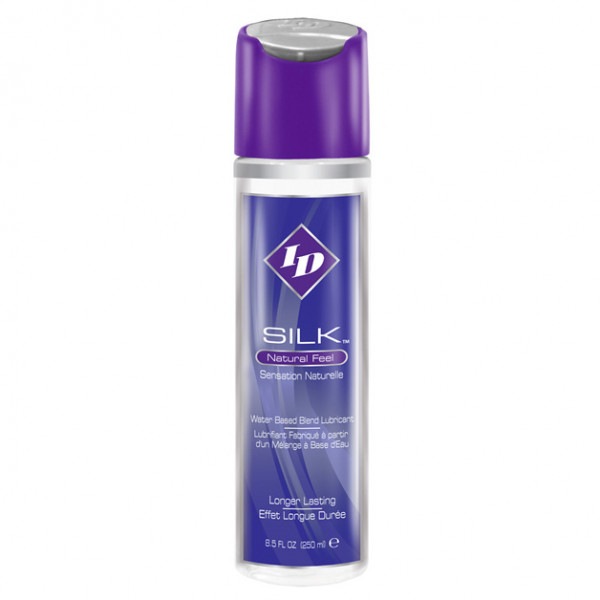 ID Silk Natural Feel Water based Lubricant 8.5floz/250mls - For The Closet