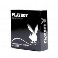 PlayBoy Classic Condoms 3 Pack
