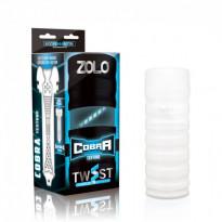 Zolo Cobra Twist Masturbator Cup