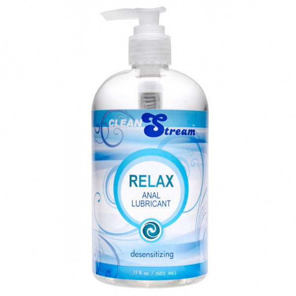 Clean Stream Relax Desensitizing Anal Lube 17 oz - For The Closet