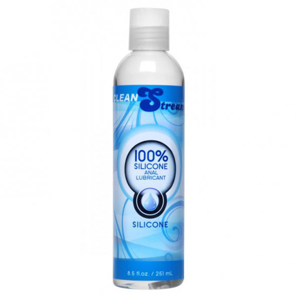 Clean Stream 100 Percent Silicone Anal Lubricant  8.5 oz - For The Closet