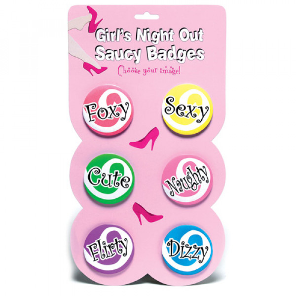 Girls Night Out Saucy Badges - For The Closet