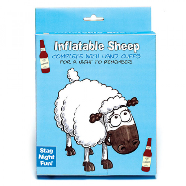 Inflatable Sheep  and  Handcuffs - For The Closet