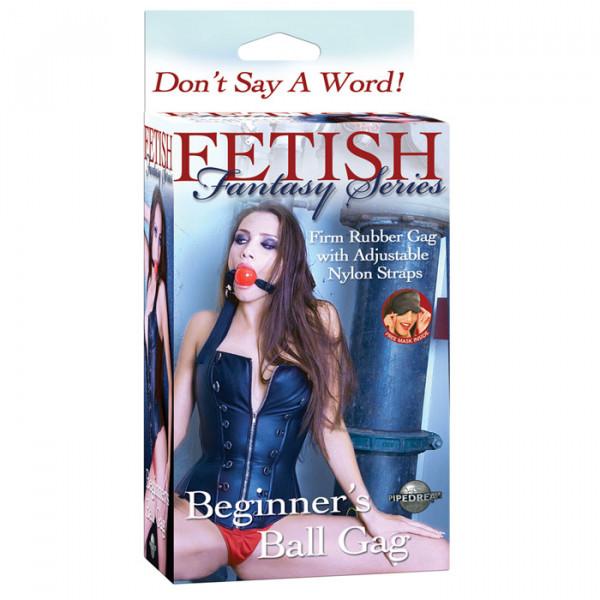 Fetish Fantasy Series Beginners Ball Gag - For The Closet