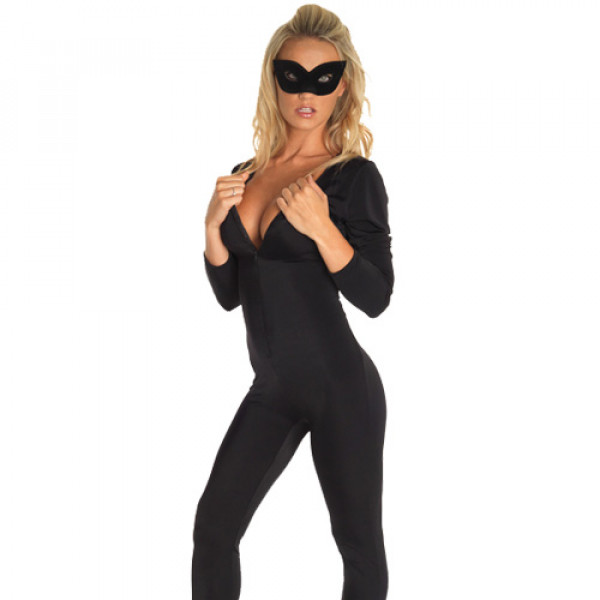 Catsuit and Eye Mask - For The Closet