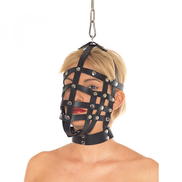 Leather Muzzle Mask - For The Closet