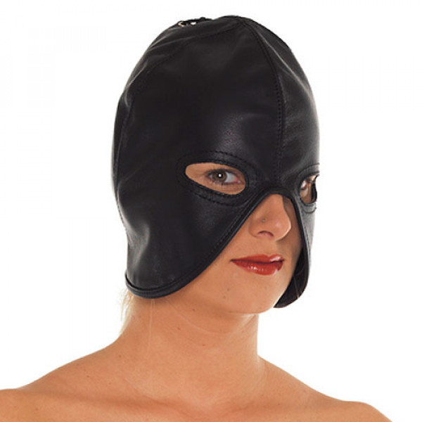 Leather Head Mask - For The Closet