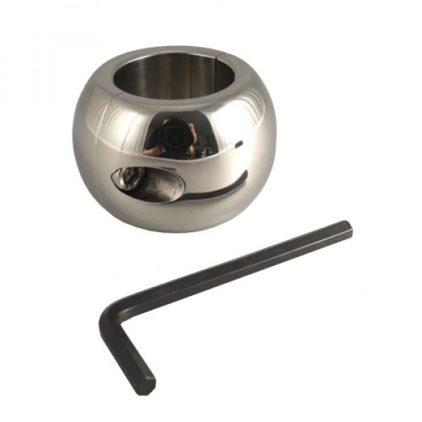 Donut Stainless Steel Ballstretcher 4cm