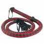 Long Arabian Whip Red and Black - For The Closet
